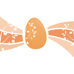 glossy easter background