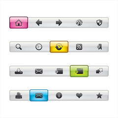 Web Page Menu Navigation