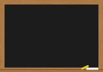empty chalkboard for your text