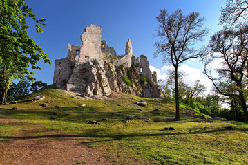 View of castle Hrusov