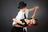 Fototapety Professional dancers