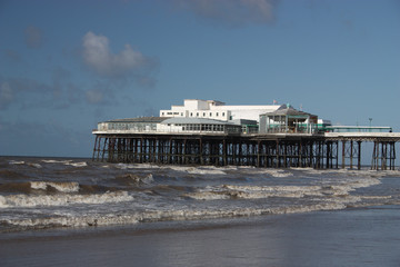 North Pier at Blackpool, Lancashire, UK