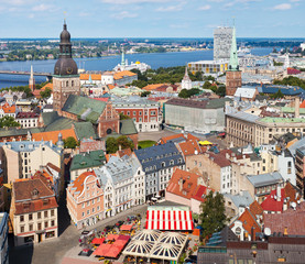 View of Old Riga, Latvia
