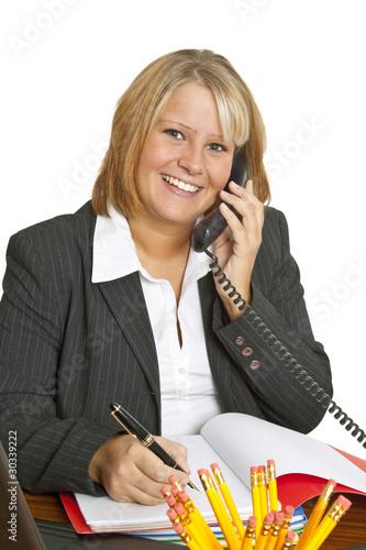 Freundliche Businessfrau