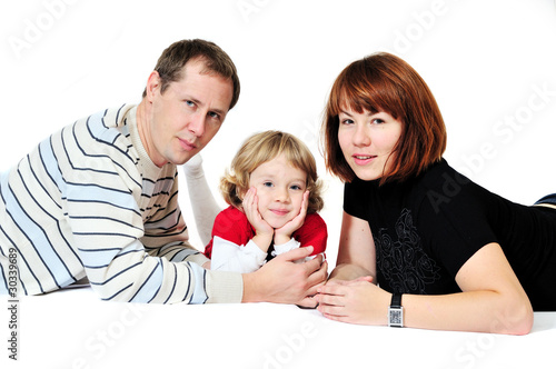 daughter and her parents