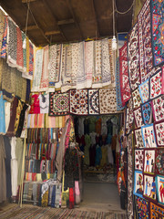 The Souk in Aswan in Egypt