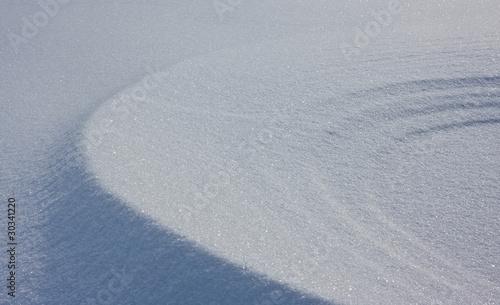Eolian Snow Pattern
