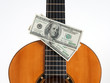 Classical guitar and money