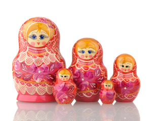 Matryoshka - A Russian Nested Dolls