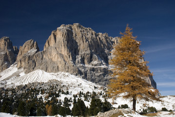 Sassolungo and Sassopiatto, Dolomites