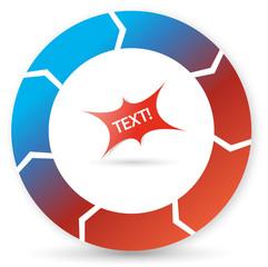 Editable process symbol