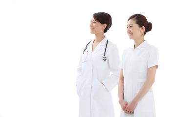 看護婦と医者