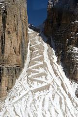 Pordoi Trekking Trail, Dolomites