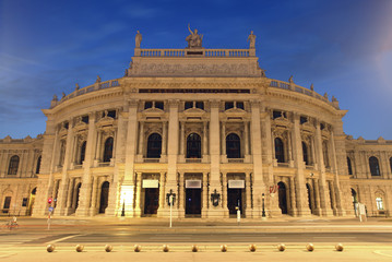 "The state Theater ""Burgtheater"" of Vienna, Austria"