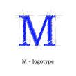 Logo design letter M # Vector