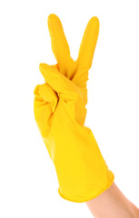 Latex Glove For Cleaning