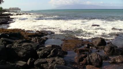 Coastal Rocks on the Pacific Ocean