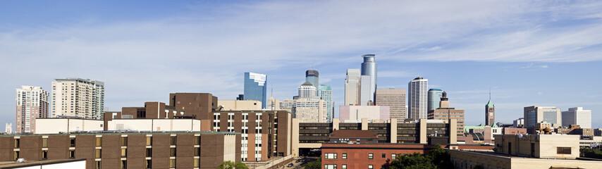 Panorama of Minneapolis, Minnesota