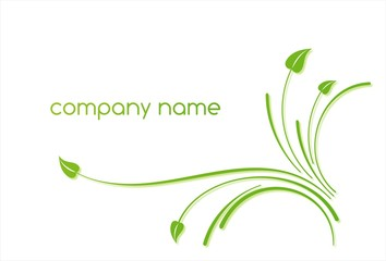 Eco friendly business logo