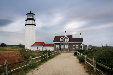 The Cape Cod Highland Lighthouse Massachusetts