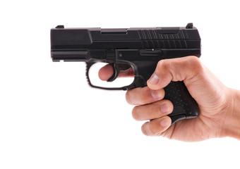 Using a Hand Gun