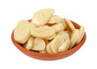 Sliced Thin Garlic Ceramic Bowl