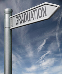 graduation sign clipping path