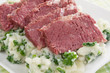 Colcannon and Corned Beef