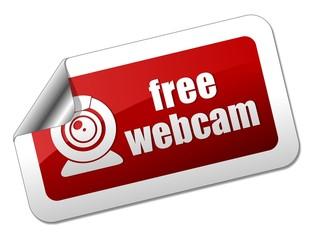 Free webcam sticker
