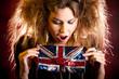 Eccentric British woman