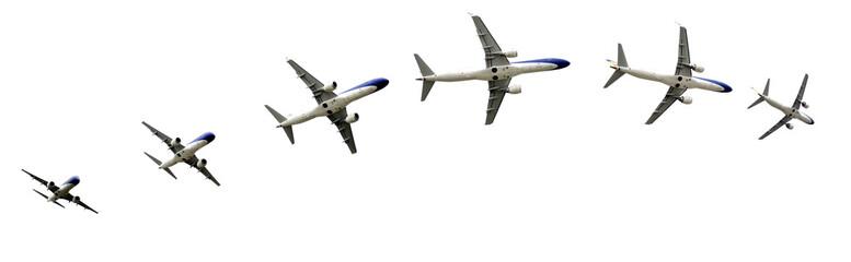 Airplane flight detalis in paths.