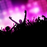 Party Music Vector