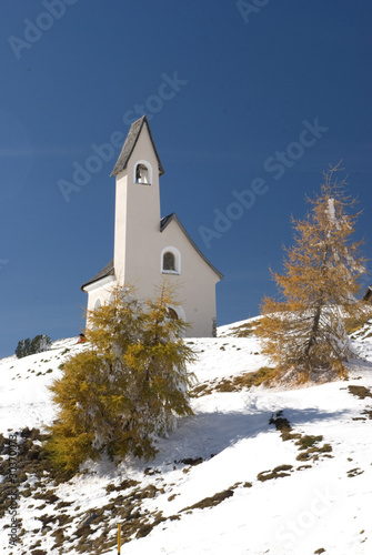 San Pietro Church, Gardena Valley, Dolomites
