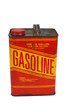 1 gallon gas can with cap on pour spout