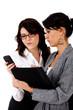 Hesitant business women