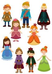 cartoon Prince and Princess icon
