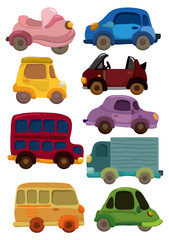 cartoon car icon