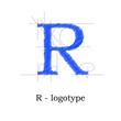 Logo design letter R # Vector