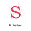 Logo design letter S # Vector