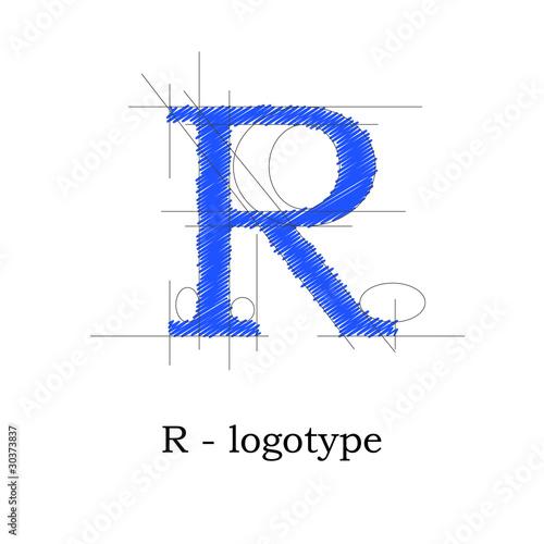 Logo design lett...R Design Letter