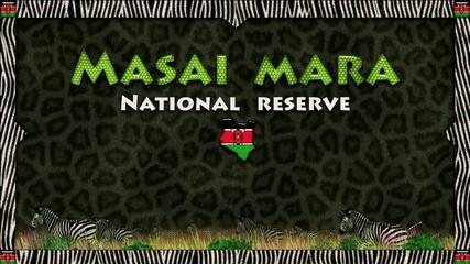 Masai Mara: black panther skin