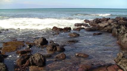 Coastal Rocks on Pacific Ocean
