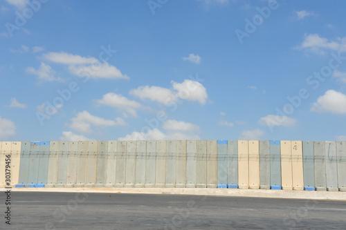 Separation Wall Gaza Israel