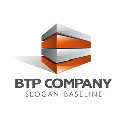 logo BTP construction