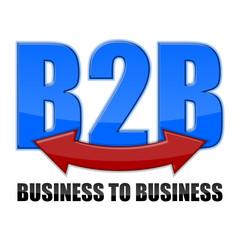 logo b2b I