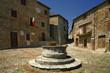 Castiglione d'Orcia, medieval alleys