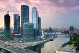 Fototapete Moskau - Skyscraper - Stadt allgemein