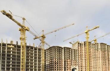 Строительство высотного дома