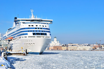 Passenger ferry in Helsinki
