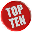 Button rot rund TOP TEN